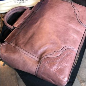 Beautiful Lilac Frye Riviana Tote